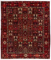 Sale 8770C - Lot 18 - A Persian Bakhtiyari And Classic Garden Design, 100% Wool On Cotton, Classed As Prerevolution Weave, 362 x 310cm