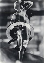 Sale 8976A - Lot 5003 - Max Dupain (1911 - 1992) - Birth of Venus 1930 48 x 36 cm (frame: 72 x 56 x 3 cm)