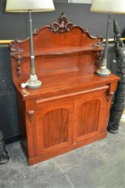 Sale 8115 - Lot 1003 - Cedar Chiffonier w Single Drawer Above 2 Doors