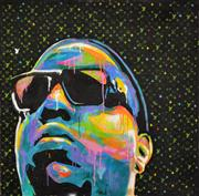 Sale 8309A - Lot 54 - INDO (1982 - ) - Notorious B.I.G. #1 (colour series) 120 x 120cm