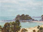 Sale 8583A - Lot 5067 - Warwick Fuller (1948 - ) - Seal Rocks 37 x 49cm