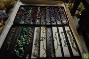 Sale 8530 - Lot 2204 - 2 Trays of Necklaces