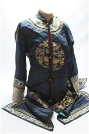 Sale 8670 - Lot 188 - Early Chinese Opera Gown