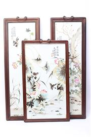 Sale 8706 - Lot 9 - Chinese Plaques (3)