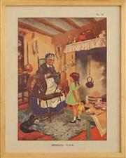 Sale 8734A - Lot 15 - Vintage Childrens Book Illustrations, c1930s (4 works)