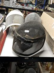 Sale 8805 - Lot 1016 - Three Fencing Masks
