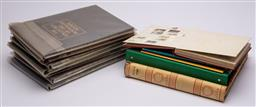 Sale 9170H - Lot 98 - A collection of Australian stamp albums and contents, some loose.