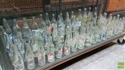 Sale 8383 - Lot 1054A - Large Assortment of Vintage Glass Bottles incl. Cohns