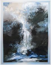 Sale 8558 - Lot 524 - David Voigt (1944 - ) - Hidden Falls, 1987 129 x 99cm