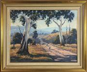 Sale 8795K - Lot 12 - Kaye Bird, oil on board