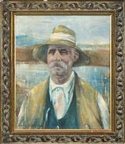 Sale 8548 - Lot 2032 - Artist Unknown (XX) - Eurich 59.5 x 50cm
