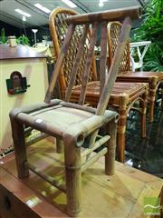 Sale 8500 - Lot 1277 - Chinese Bamboo Chair