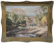 Sale 8690A - Lot 5002 - John Fletcher - Monaro District 56 x 72cm