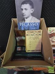 Sale 8900 - Lot 81 - Collection of Art Books incl. McCulloch, A. Encyclopedia of Australian Art, 1977; vol. 1. The Life of Picasso 1881-1906; Pilking...