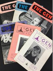Sale 8539M - Lot 165 - The Gen, 6 vols., 1949-50, 55 (3) & 56