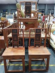 Sale 8740 - Lot 1281 - Chinese Near Set of Seven Chairs