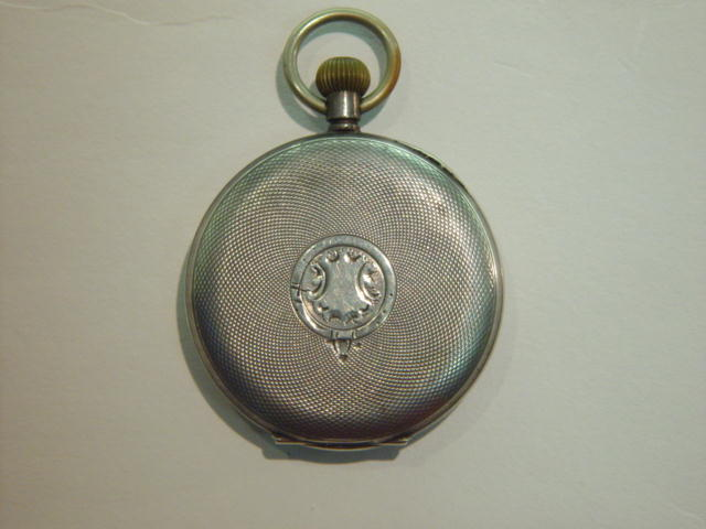 Sale 3545 - Lot 89 - A SILVER OPEN FACE POCKET WATCH;