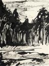 Sale 7790 - Lot 54 - PETER UPWARD (1932-1984) - Thru the Past Darkly 1976 oil on paper