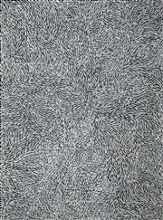 Sale 8471H - Lot 90 - Jeannie Petyarre (c1956 - ) - Bush Yam Leaves 206 x 153cm (stretched & ready to hang)