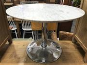 Sale 8817 - Lot 1075 - Round Marble Top Occasional Table