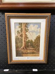Sale 8910 - Lot 2004 - Gladstone Eyre - On the Trail watercolour, 29.5 x 23.5 cm, signed lower right -