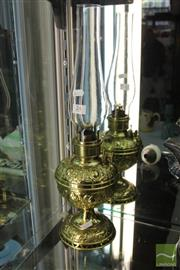 Sale 8217 - Lot 24 - Millers Kerosene Lamp
