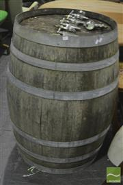 Sale 8287 - Lot 1021 - Wine Barrel
