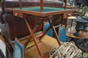 Sale 8326 - Lot 1480 - Fold Up Games Table