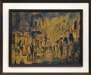 Sale 8690A - Lot 5016 - Jack Layoux - Paris Street Scene 44.5 x 60cm