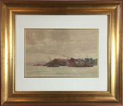 Sale 8795K - Lot 16 - C.E.S Tindall, watercolour