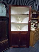 Sale 7919A - Lot 1722A - An Early Colonial Cedar Corner Cabinet with Two Panel Doors