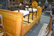 Sale 8093 - Lot 1827 - Pair of Antique Baltic Pine Single Beds