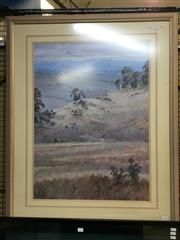 Sale 8771 - Lot 2051 - Margaret Willis - Near Larggen 1989 oil, 104 x 81.5cm (frame), signed lower left