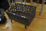 Sale 8046 - Lot 1100 - Cast Iron Fire Place