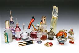 Sale 9098 - Lot 206 - Collection of Glass Perfume Bottles incl. Orrefors
