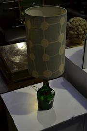 Sale 8013 - Lot 1076 - Rum Bottle Turned Lamp