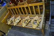 Sale 8039 - Lot 1065 - Timber Outdoor Bench