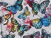 Sale 8527A - Lot 23 - David Bromley (1960 - ) - Butterflies 77 x 104cm