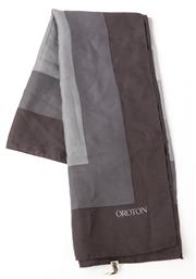 Sale 9080F - Lot 40 - AN OROTON 100% SILK SCARF; in various shades of grey
