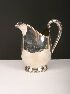 Sale 3650 - Lot 31 - A HECWORTH REPRODUCTION OLD SHEFFIELD SILVER PLATED WATER JUG