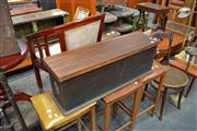 Sale 8013 - Lot 1234 - Timber Lift Top Trunk