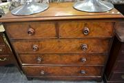 Sale 8099 - Lot 897 - Antique Chest of 5 Drawers