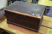 Sale 8532 - Lot 1125 - Timber Lift Top Chest
