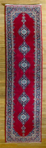 Sale 8700C - Lot 42 - Persian Kashan Runner 380cm x 104cm