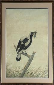 Sale 8795K - Lot 20 - Neville Cayley, watercolour