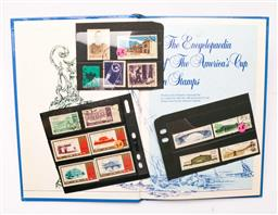 Sale 9110 - Lot 61 - A collection of various stamps in album inc Americas Cup