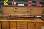 Sale 8326 - Lot 1034 - Younger Teak and Afromosia Sideboard by B V Wilkins
