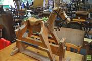 Sale 8326 - Lot 1703 - Timber Rocking Horse