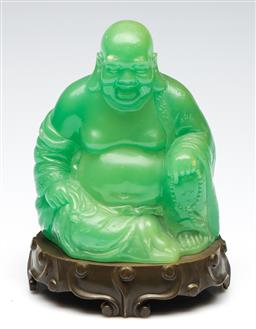Sale 9253 - Lot 93 - A composite laughing Buddha (H:22cm)