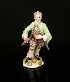 Sale 7311 - Lot 105A - A 19TH CENTURY GERMAN PORCELAIN FIGURE